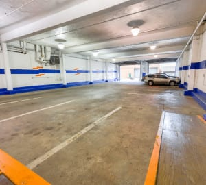 Large indoor loading docks for your convenience