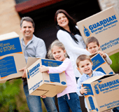 Family using Guardian Storage
