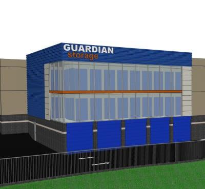 Guardian Storage Hampton Driveway