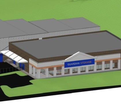 Guardian Storage Murrysville Office Render