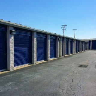 Drive up units for easy access