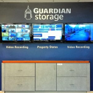 State of the art security and advanced property monitoring within the Guardian Storage in Monroeville on Haymaker Rd
