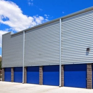 Drive Up storage for easy access