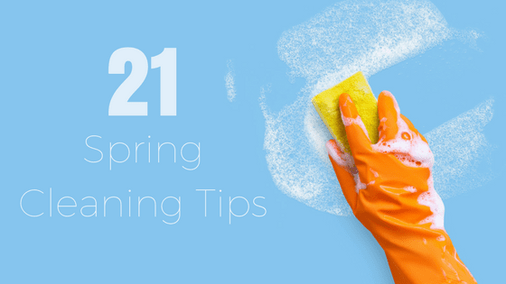 Spring Cleaning List Tips for a Clean Home - Sponge Cleaning Supplies - Guardian Storage
