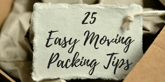 Easy Moving Packing Tips