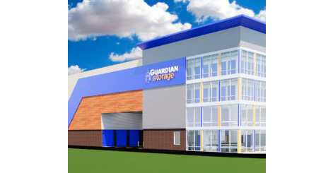 Guardian Self Storage in Peters Township Exterior Rendering