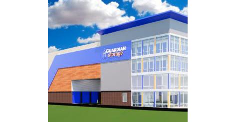 Guardian Self Storage in Peters Township Exterior Rendering