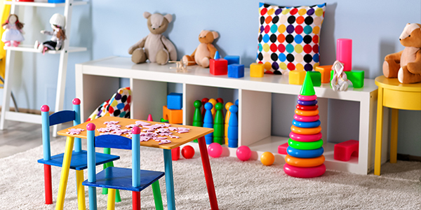 A organized children's playroom can be achievable if you learn how to declutter toys.