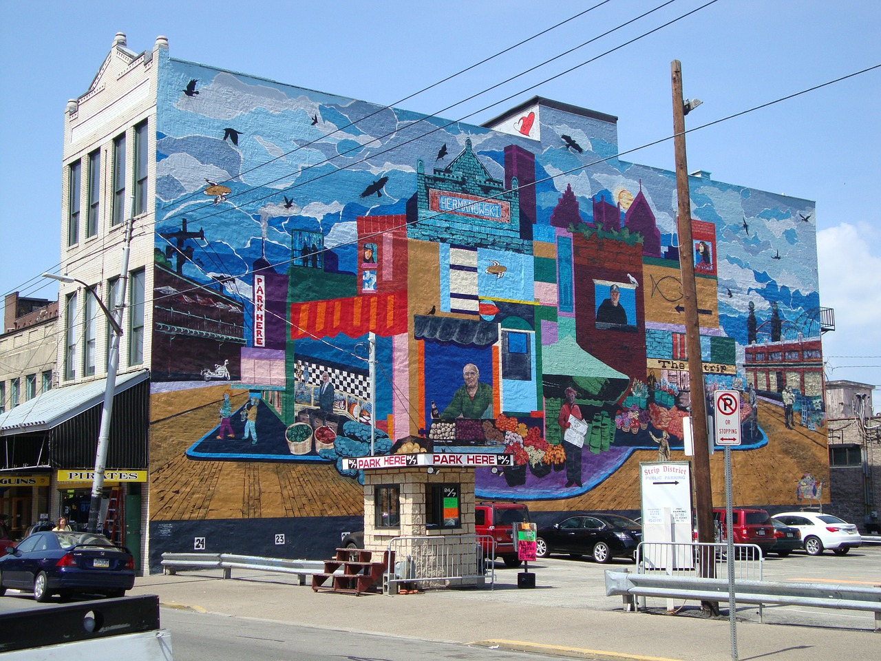 Visiting Pittsburgh's Strip District is an absolute must on our 50 Things to Do in Pittsburgh This Summer.