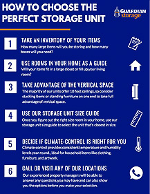 How to Choose the Perfect Storage Unit