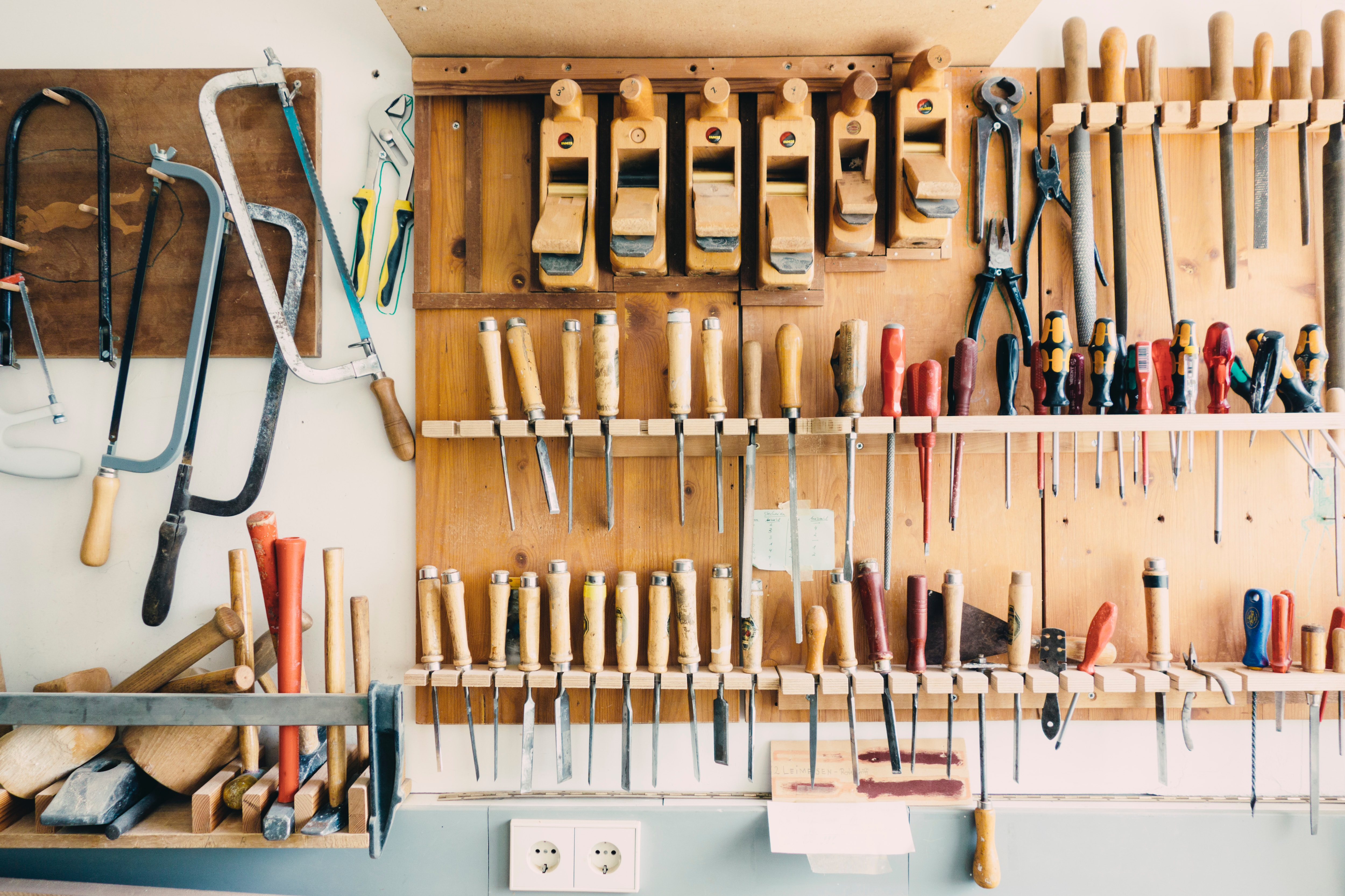 Shed organization can be done in as little as a day and can save you time and stress.