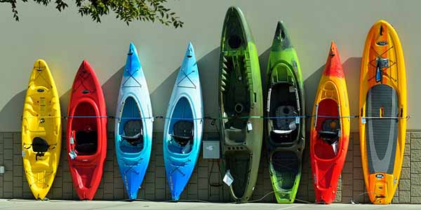 Knowing how to store your kayak when it is not in use is essential.