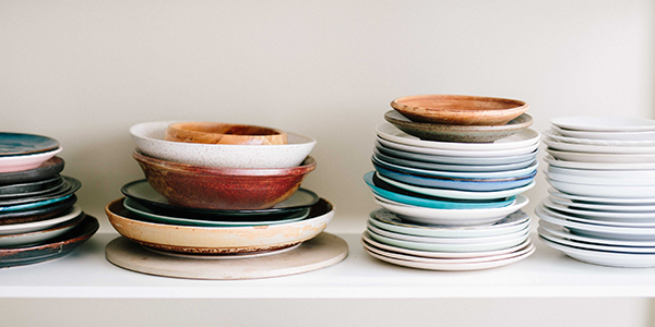 Guardian Storage can help you know how to pack plates for a move.