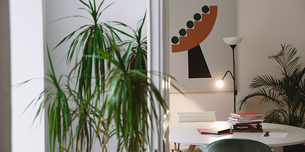 Add Some Life Into the Room While houseplants won't technically add any light into the room, adding greenery can actually make your space seem brighter and more lively. Use white or metallic pots for the plants to help reflect light. For the best results, opt for houseplants that don't require a lot of sunlight. If you still don't trust that you can keep them alive, fake plants will also suffice.