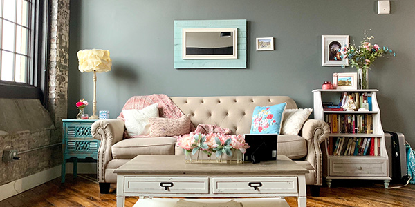 Hang Mirrors Around the Room Mirrors are great for reflecting light and making a room feel larger. Place one or more mirror strategically around the room to help reflect light and make the room feel brighter. If there is a window in the room, aim to have at least one mirror on the wall opposite to enhance the brightness in your dark room.