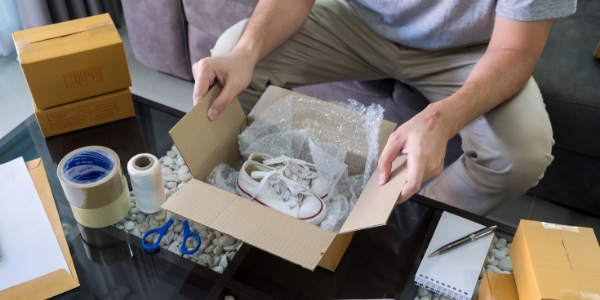 Getting ready to move to a new home, but not sure how to pack shoes for moving? Check out our steps on easy ways to pack shoes for your move!