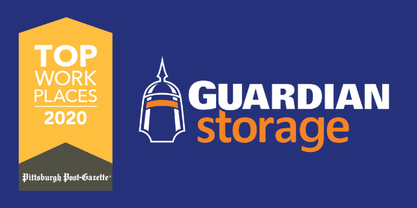 Guardian Storage Named a 2020 Top Workplace