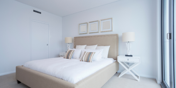 The master bedroom is one of the most important rooms when it comes to selling a home. Below are some tips on how to stage a bedroom to sell quickly!