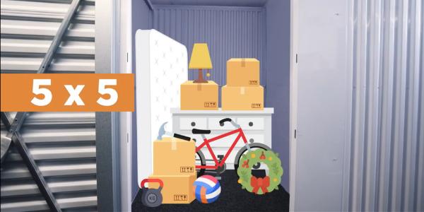 Understanding Storage Unit Sizes: 5×5 Storage Unit