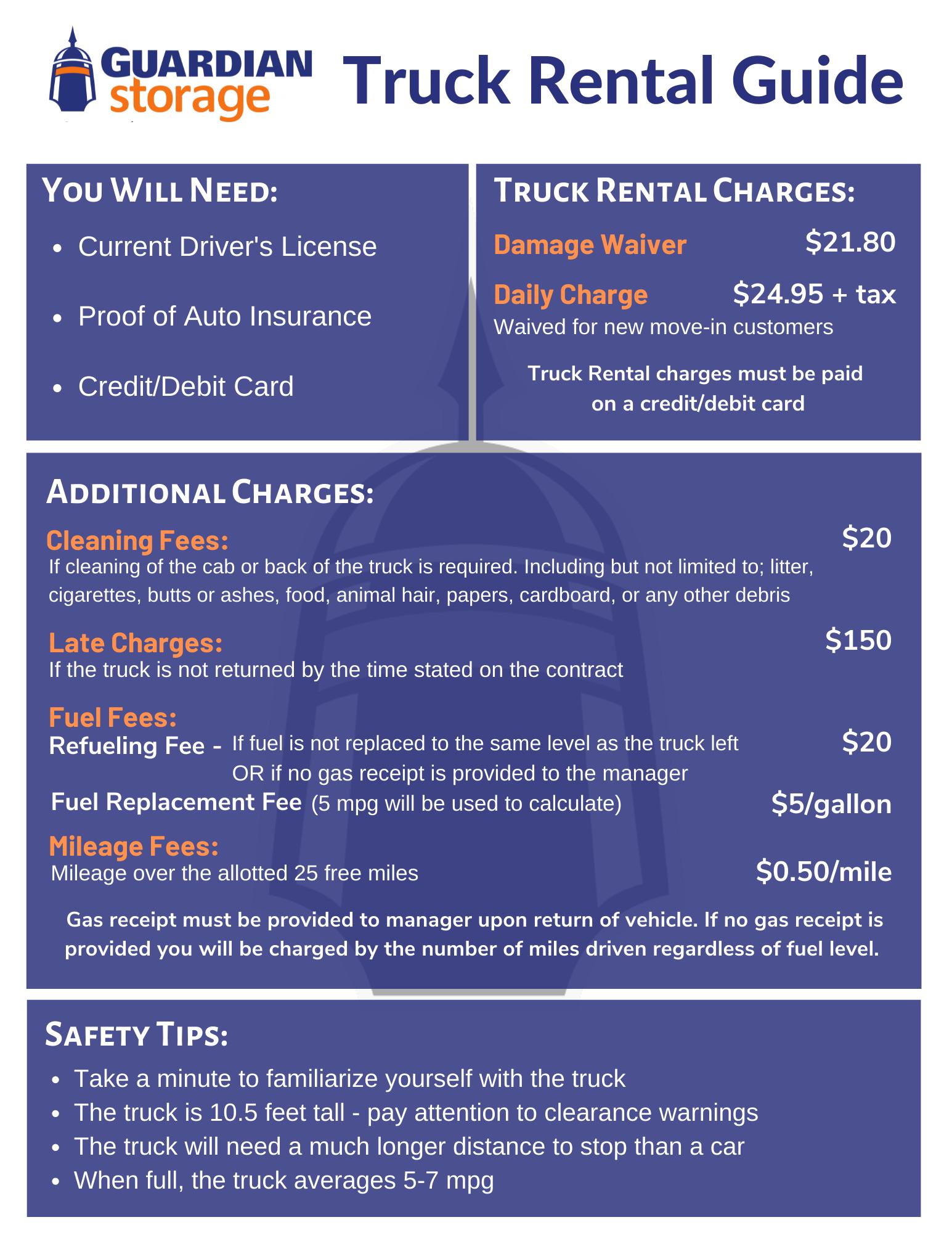 Truck Rental Guide