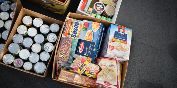 Guardian Storage Bridgeville is hosting a food drive throughout the month of October to benefit Chartiers Center's food pantry.